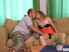 Skinny Teen Hussy Shown How An Experienced Man Can Fuck
