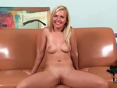 Ed Teen In Her Audition Striptease