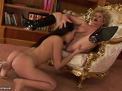 Effie The Schoolmaster And Her Nasty Old Pussy