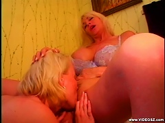 Mature And Young Blondes Finger Fucking And Eating Their Pussies