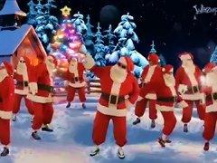 Here Cum's Santa Claus
