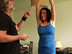 Sexy Jess Scotland Goes Totally Naked And Decides To Ride The Cock