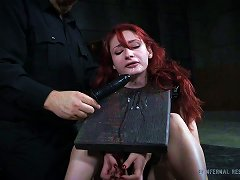 Arousing Redhead Chick And The Punishment For Her Naughtiness