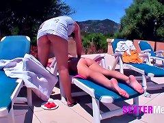 Mallorca - Teenyfotzen Am Pool