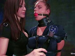 Blonde Gets Her Juicy Pussy Tortured In Bondage Video
