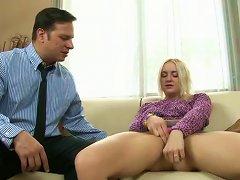 Nasty Teen Slut Fucks Handsome Mature Dude In Reverse Cowgirl Pose