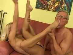 Senior Cock To Please Young Babe's Desires
