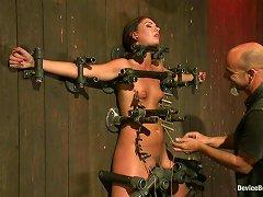 Pretty Extreme Bondage And Torture Session For Cassandra Nix