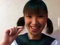 Japanese Teen Gets Deep Stimulated