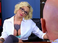 The Dean Of Students Hires A New Teacher And Fucks Her Hard