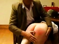 Young Chick Is Spanked And Her  Reddended