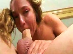 Young Chick Face Fucking Gets Messy