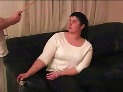 Amateur Sluttie Candy Gets Nice Ass A Naughty Spanking In BDSM Action