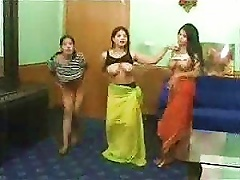 Hot Arab Teens Strip And Show Their Tits And  Pussies On Webcam