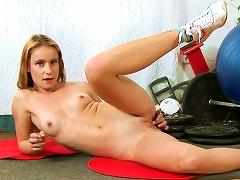 Cute  Amber Davies Shows Her Flexy Shape