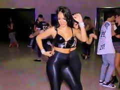 Two Latin Hot Big Ass Dancing