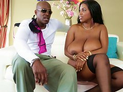Ebony Couple Talks About Their Favorite Sex Possitions