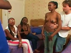 Gorgeous Ebony Princess Gets Her Black Pussy Fingered