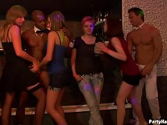 Cfnm Party Packed With Action For Amateur Teens