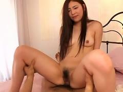 Naughty Teen Madoka Hitomi Enjoys It With Her Eyes Closed