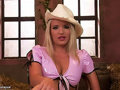 Interview With Sexy Blonde Cowgirl Brittany Spring