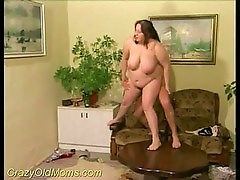 Fat Mom Fucked By A Young Man's Cock