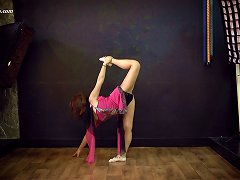 Mila Is A Russian Girl Who Is Very Proud Of Her Flexible Body