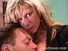 Blonde Cougar With Gorgeous Natural Tits Enjoying A Hardcore Missionary Style Fuck