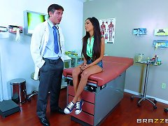 Big Dick Doctor And A Beautiful Busty Patient Fucking