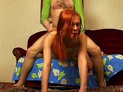 Cutest Redhead Sucks And Rides Like Nobody Else In The World Can