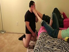 Humiliated By Young Girls Toes