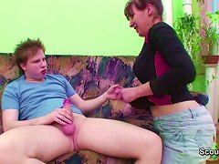 Young Boy Seduce Friends Mom To Get First Fuck