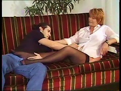 Mature With  Seduces Younger Man