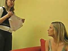Aunt Gwen Inserts A Buttplug In Harmony 039 S Asshole