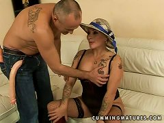 Nyikita The Frisky Granny Uses Sex Toys To Cum