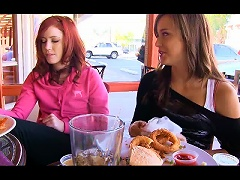 Teasing With The Naughty Teens Elle And Malena