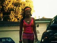 Ebony Teen Ciara Trez Banged By A Black Stud