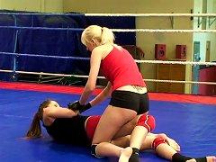 Alexa Wild In Hot Cat Fight Porn Video
