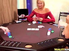 Poker Game Turned Into Lesbian Game