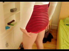 Spanked For Breaking Dress Code