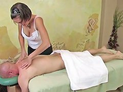 Dagfs Busty Teens Massage Gets His Cock