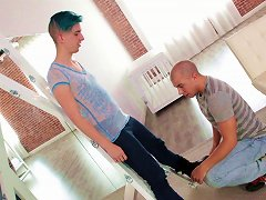 Ingrid Mouth Has A Kinky, Wild Bisexual Threesome With Two Guys