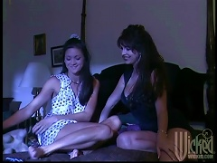 A Hot Lesbian Milf Brings Home A Younger Babe