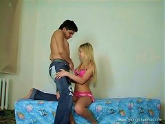 Hardcore Pov Video Of A Blonde Bouncing On A Dick
