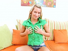 Slender Lexxis Shows Off Her Nice