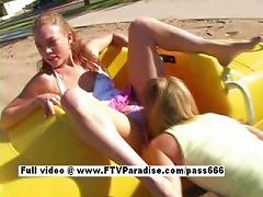 Lovely Lesbians Having Sex In
