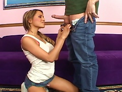 Horny Man Fuck A Sexy Pigtailed Cutie