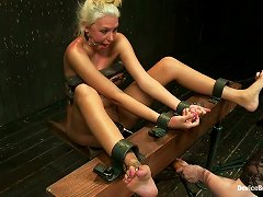 Blonde Katie Summers Gets Punished By Her Mistress