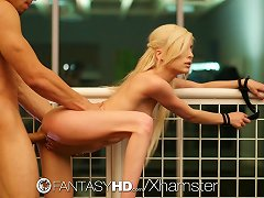 Fantasyhd - Submissive Teen Piper Perri Tries Bondage Sex
