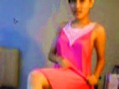 Indonesian Teen Strip